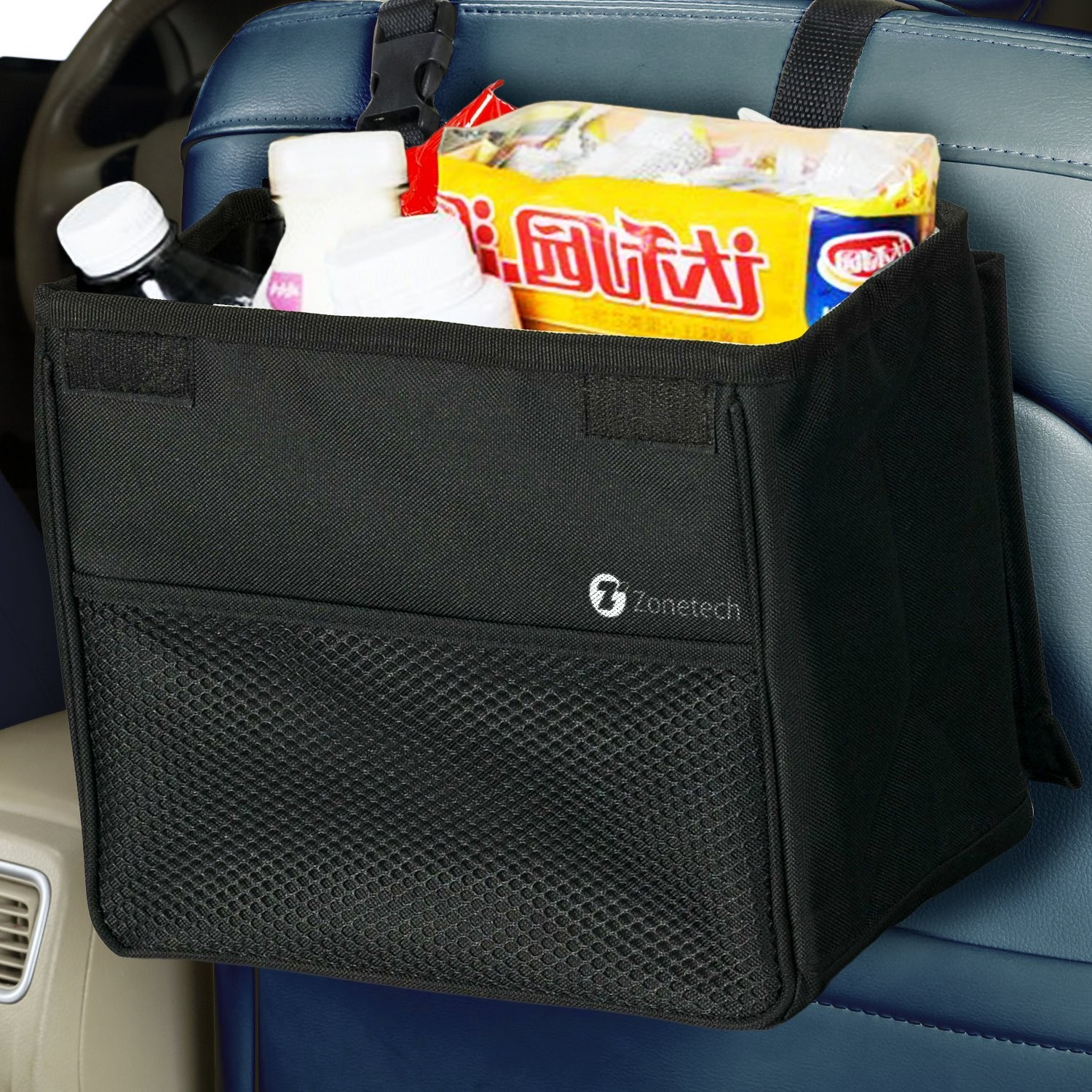 Large Leak Proof Trash Can For Car