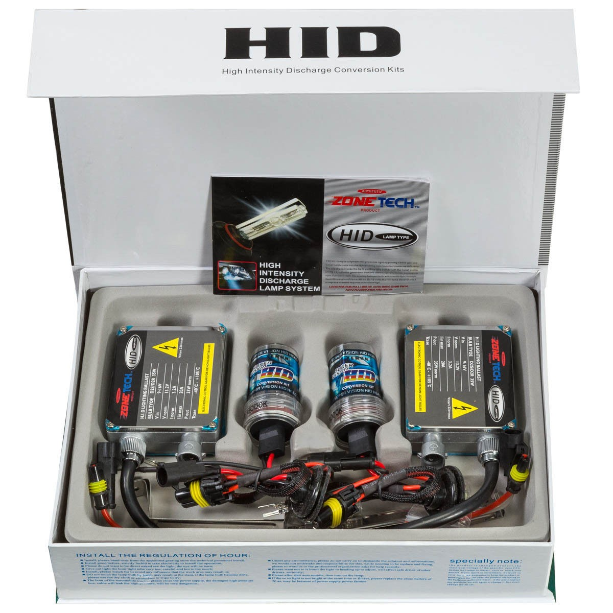 Auto Accessories Headlight Bulbs Car Gifts Hid Xenon