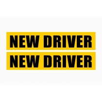 New Driver Sticker- Set of 2
