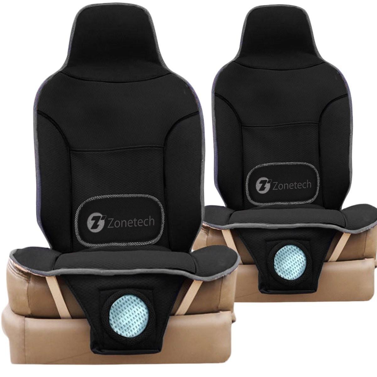 Auto Accessories  Headlight bulbs  Car Gifts Zone Tech 3-in-1 Car Seat Cushion - 2-Pack Black