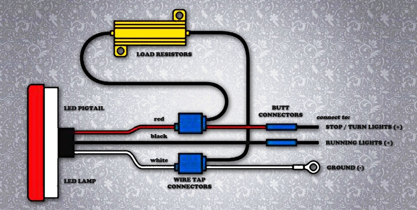 Wiring Diagram For Led Load Resistors - Wiring Solutions