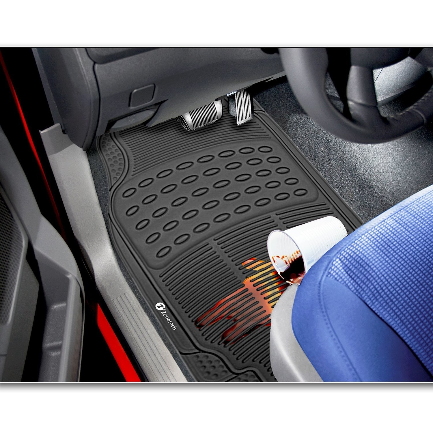 extra heavy floor rubber duty auto ford tran transit mats custom mat floormat