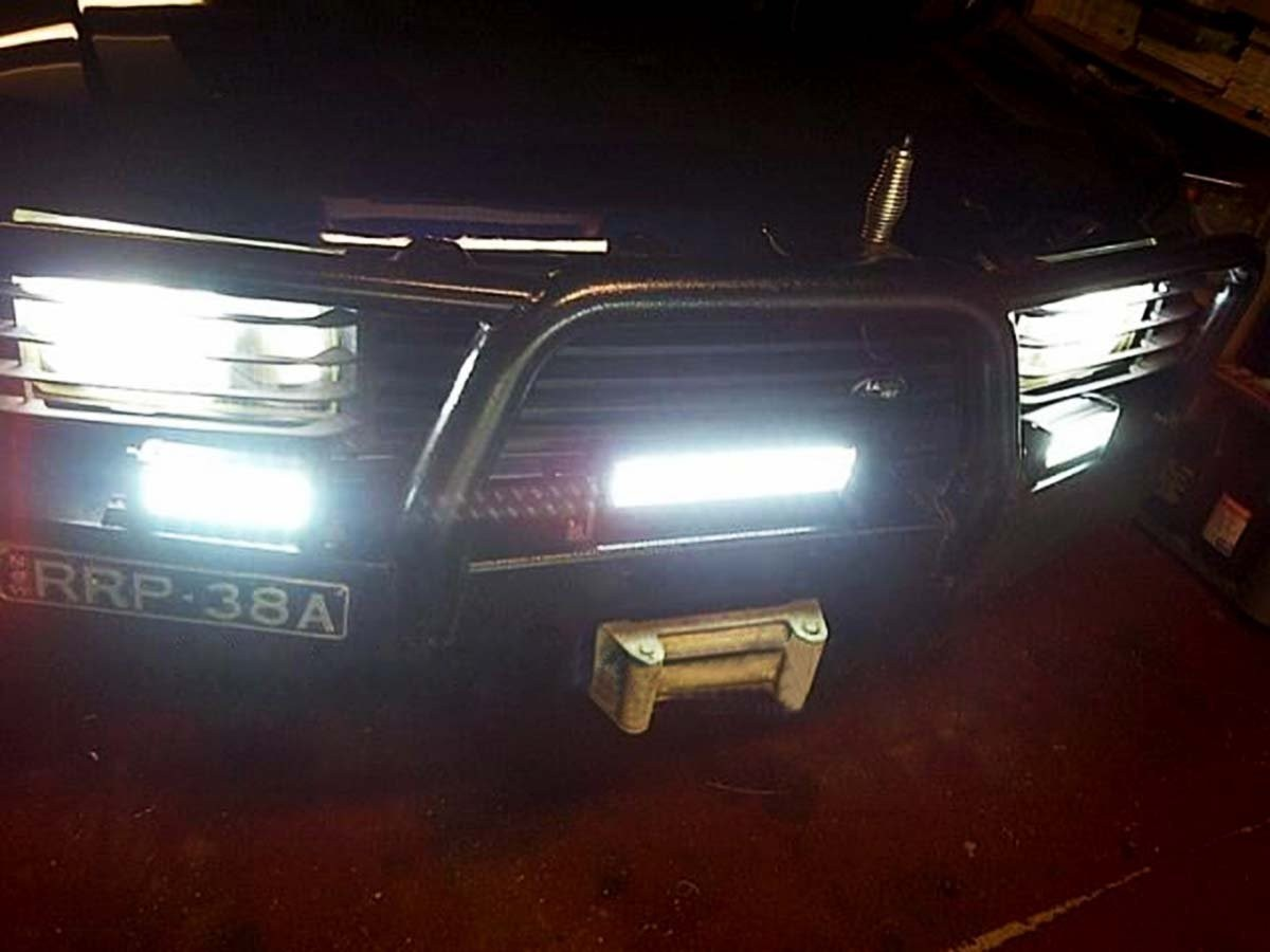 Auto Accessories | Headlight bulbs | Car Gifts 36W LED Bar Off ...