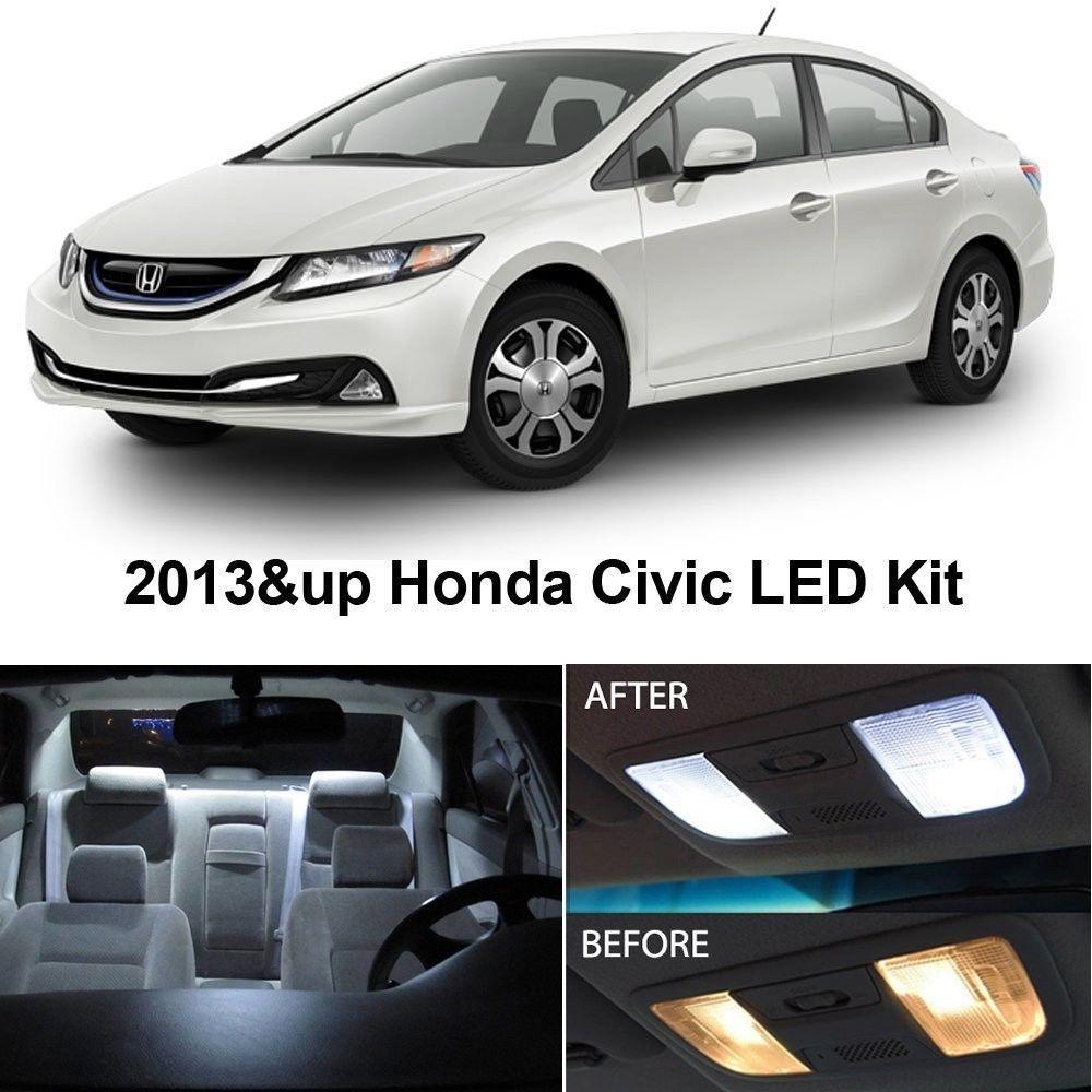 Auto Accessories Headlight Bulbs Car Gifts Honda Civic