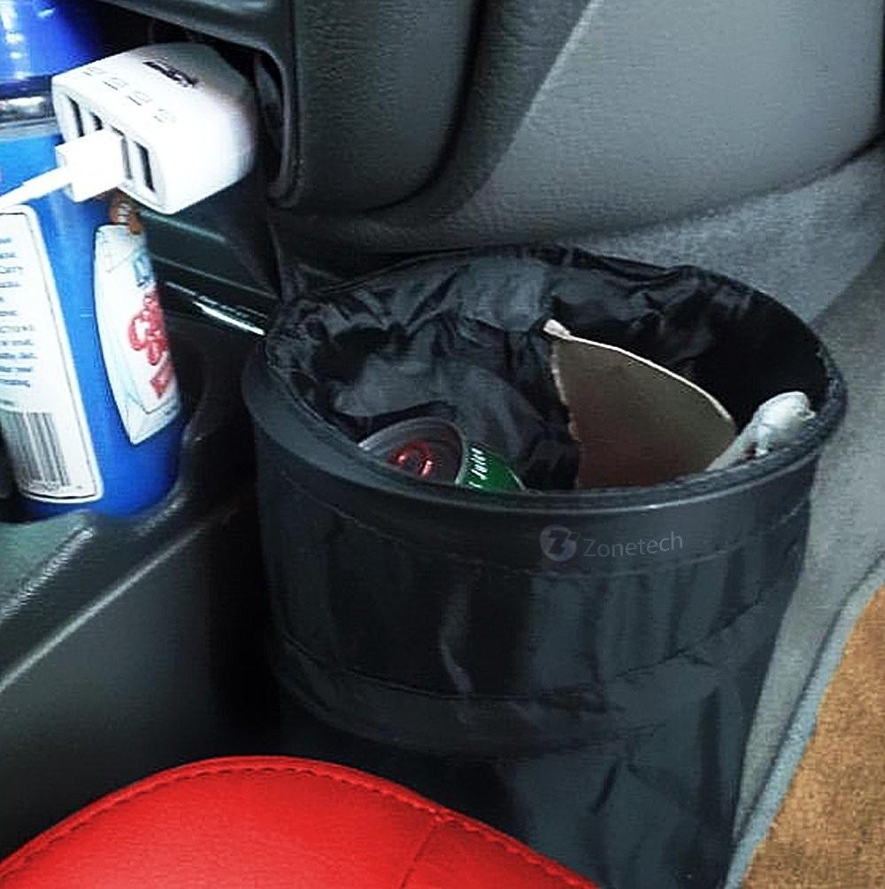 Auto Accessories Headlight Bulbs Car Gifts Trash Can Combo Mini Trash Can Leak Proof Pop Up